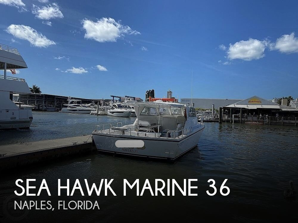2014 Sea Hawk Marine boat for sale, model of the boat is 36 & Image # 1 of 40