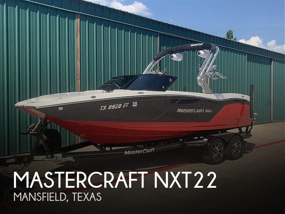 Used Boats For Sale in Dallas, Texas by owner | 2019 Mastercraft Nxt22