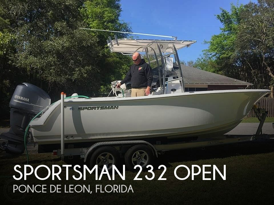 Used Boats For Sale in Dothan, Alabama by owner | 2015 Sportsman 232 Open