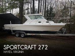 1998 Sportcraft 272 Fishmaster