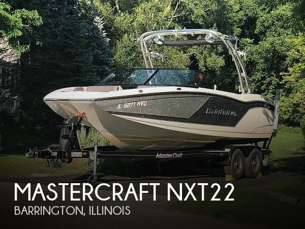 Used Boats For Sale in Rockford, Illinois by owner | 2017 Mastercraft NXT22