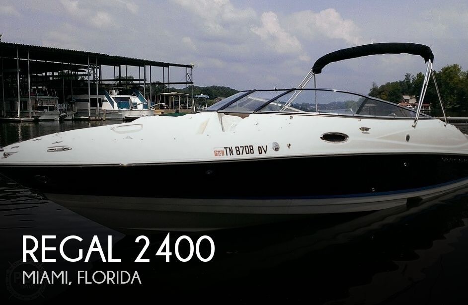 Used Regal 2400 Boats For Sale by owner | 2006 Regal 2400