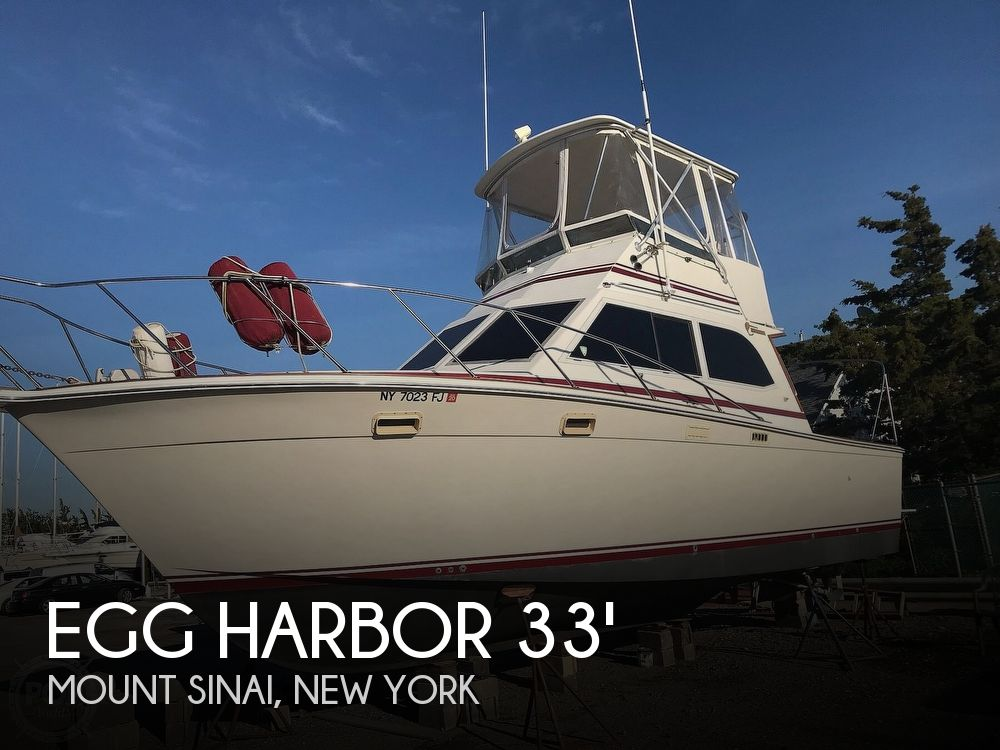 Used Egg Harbor Boats For Sale by owner | 1987 Egg Harbor 33 Sportfish