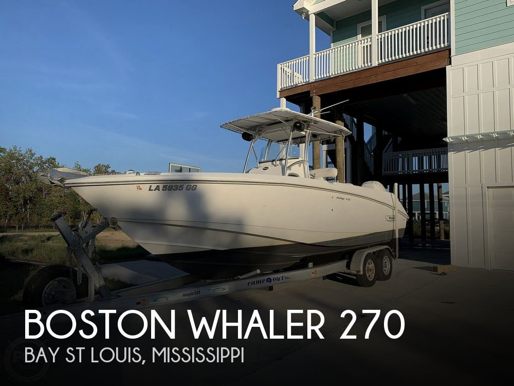 Used Boston Whaler outrage Boats For Sale by owner | 2002 Boston Whaler 270 Outrage