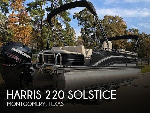 Used Harris Pontoon Boats For Sale in Texas by owner | 2016 Harris 220 Solstice