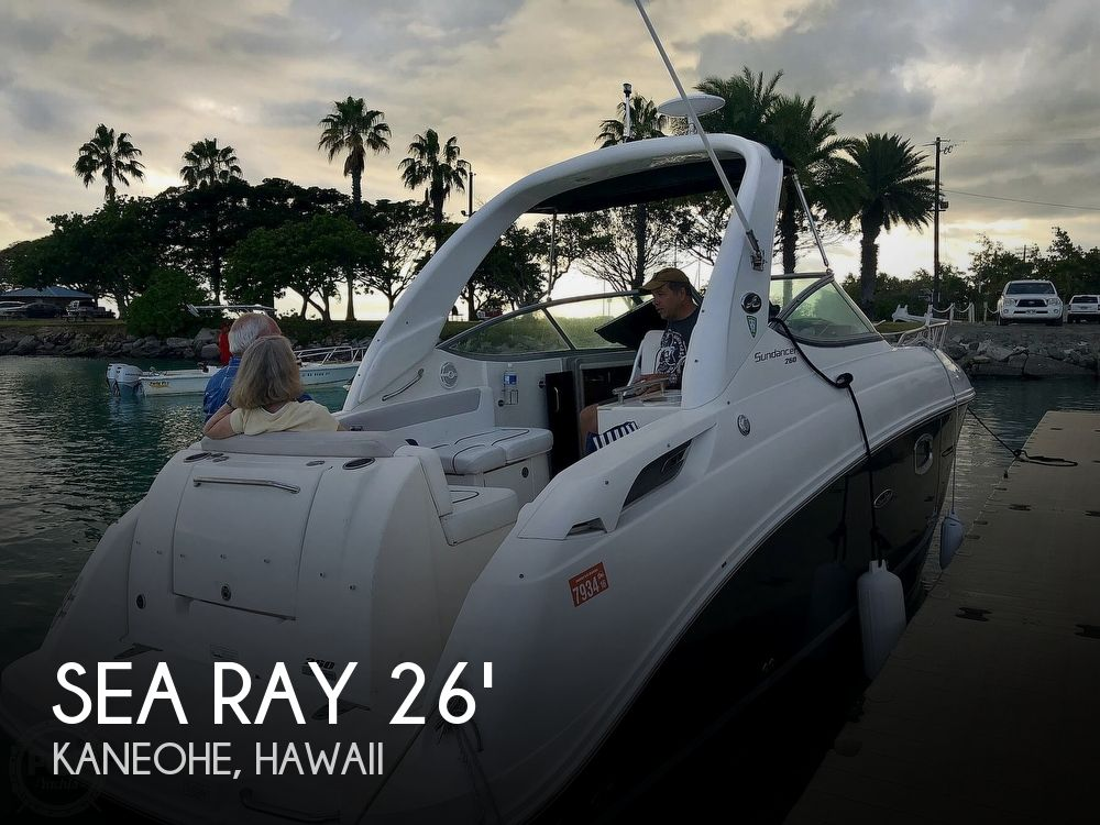 Used Boats For Sale in Honolulu, Hawaii by owner | 2011 Sea Ray Sundancer 260