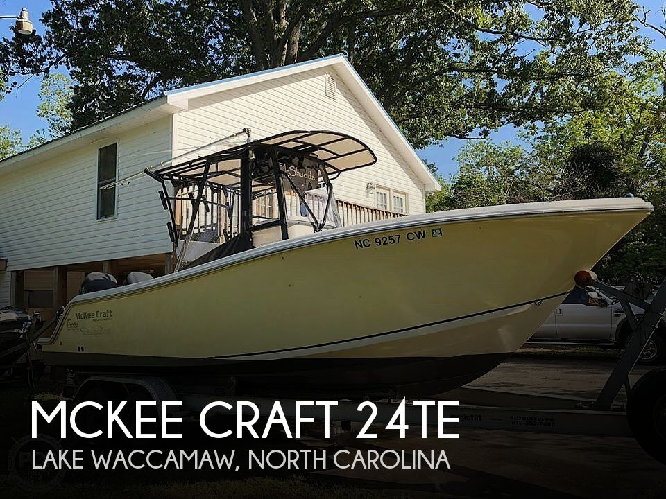 Used Mckee craft Boats For Sale by owner | 2005 Mckee Craft 24TE