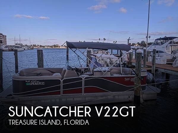 Used Suncatcher Boats For Sale by owner | 2017 SunCatcher V22GT