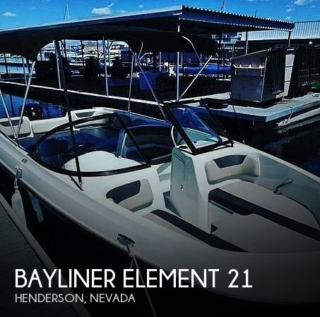 Used Boats For Sale in Las Vegas, Nevada by owner | 2017 Bayliner Element 21