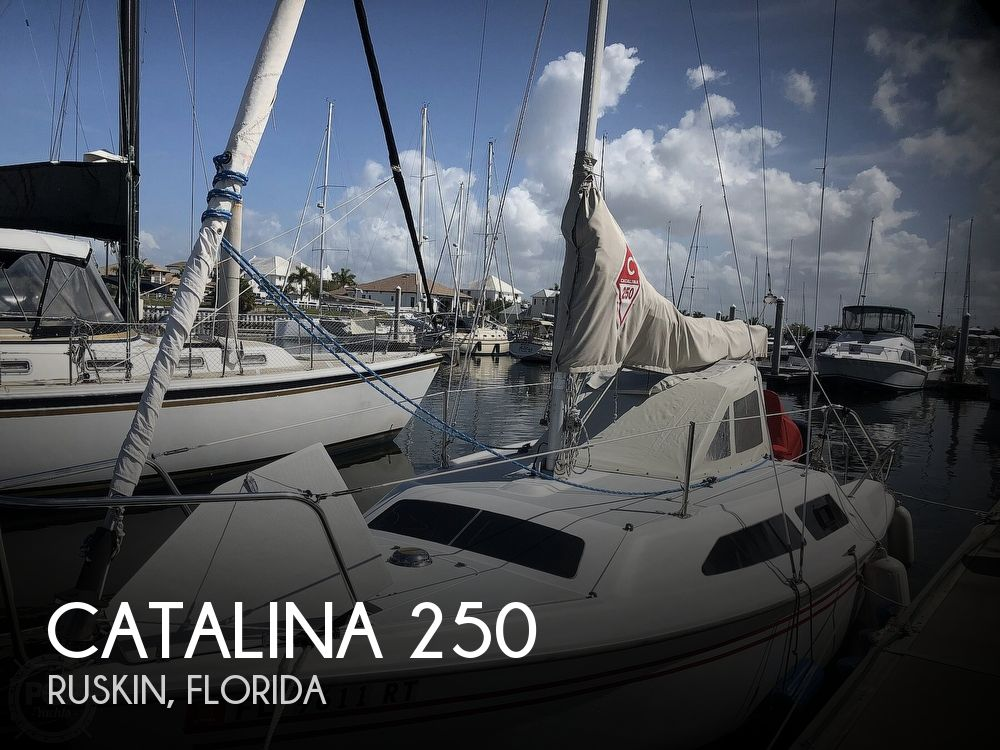 Used Sailboats For Sale by owner | 1996 Catalina 250