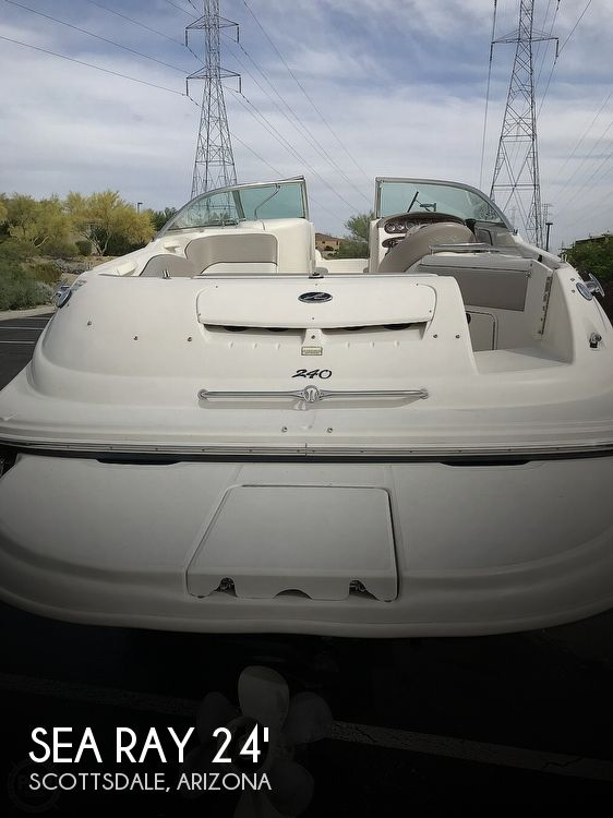Used Sea Ray 240 Sun Deck Boats For Sale by owner | 2002 Sea Ray 240 Sun Deck