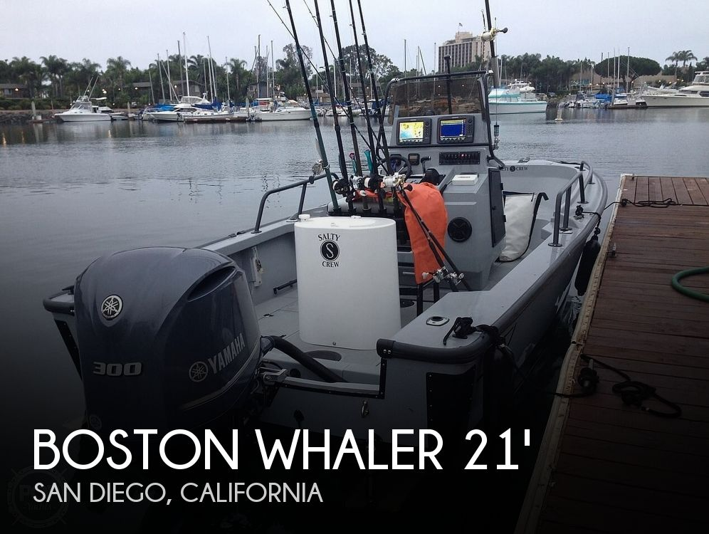 Used Boston Whaler Justice Boats For Sale by owner | 1997 21 foot Boston Whaler Justice