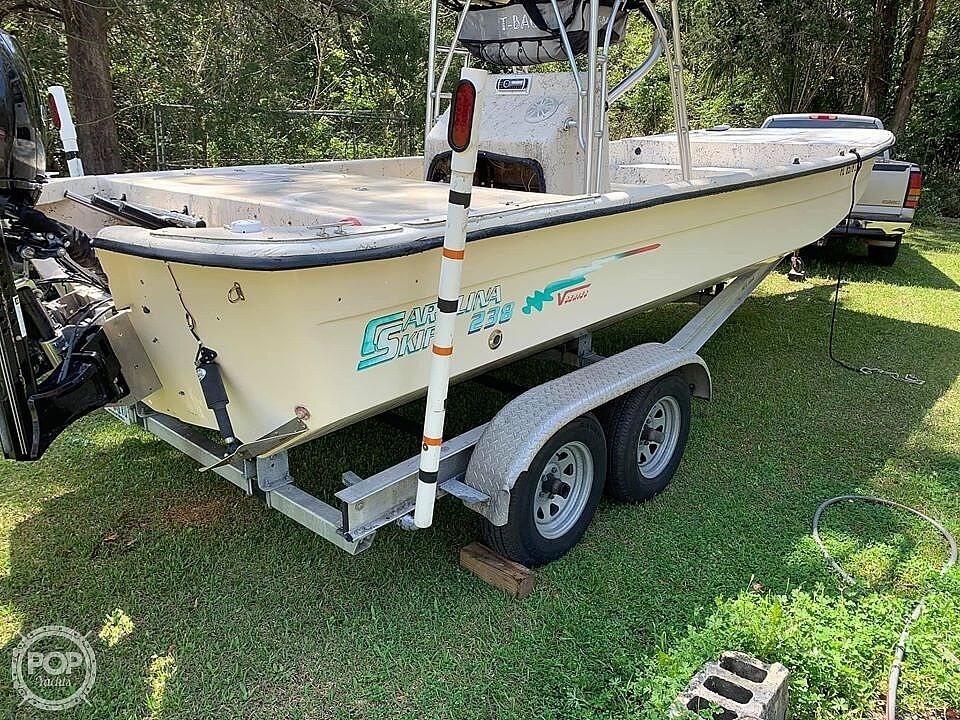 2001 Carolina Skiff boat for sale, model of the boat is 238 DLV & Image # 4 of 41