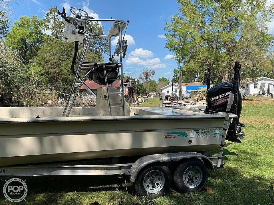 2001 Carolina Skiff boat for sale, model of the boat is 238 DLV & Image # 15 of 41