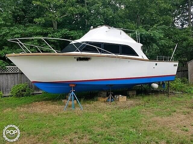 1973 Egg Harbor boat for sale, model of the boat is 30 Sport fisher & Image # 8 of 9