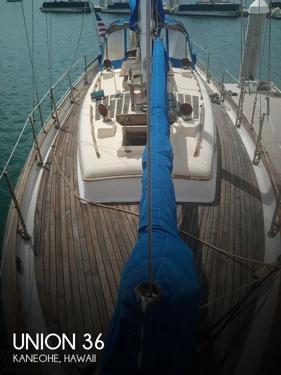 1979 Union boat for sale, model of the boat is Polaris 36 Cutter & Image # 1 of 40