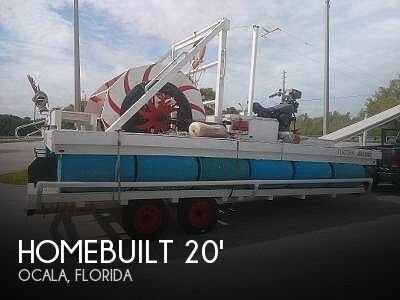 Used Homemade Boats For Sale by owner | 2018 Homemade 20 Paddle Wheel Boat