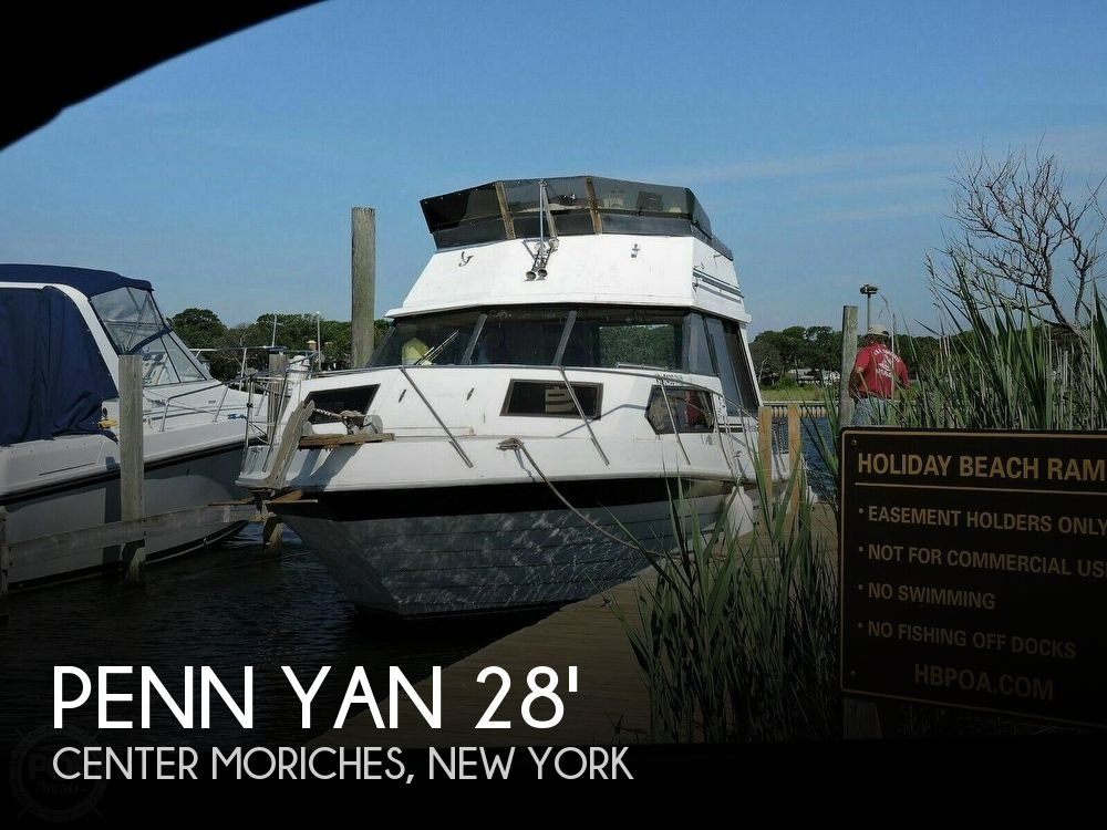 Used Penn yan Boats For Sale by owner | 1981 Penn Yan 28 Express Sedan