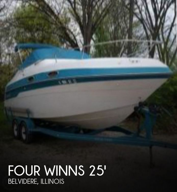 Used Four Winns Boats For Sale in Illinois by owner | 1996 Four Winns 25
