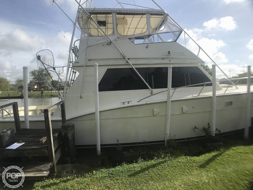 1985 Hatteras boat for sale, model of the boat is 52 Convertible & Image # 2 of 40