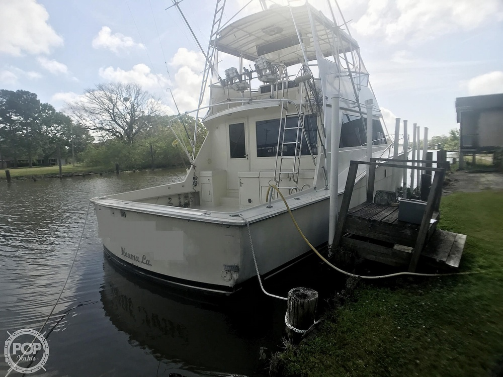 1985 Hatteras boat for sale, model of the boat is Convertable 52 & Image # 4 of 40