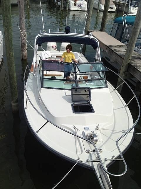 1987 Rampage boat for sale, model of the boat is Express 24 & Image # 2 of 41