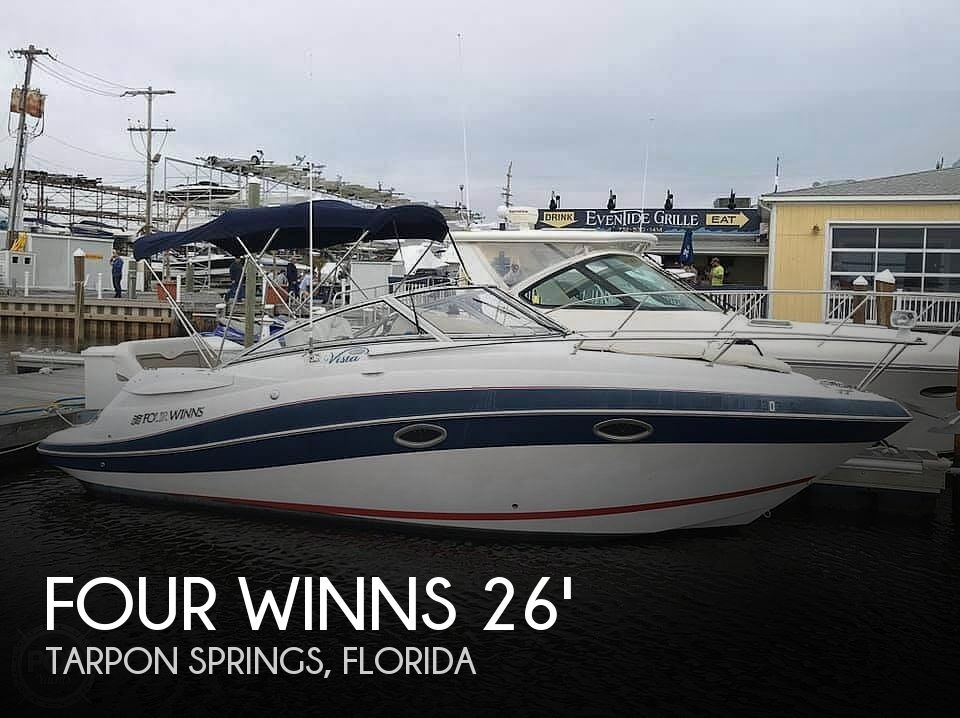 Used Four Winns Boats For Sale in Florida by owner | 2006 Four Winns 258 Vista