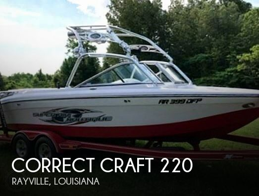 Used Boats For Sale in Monroe, Louisiana by owner | 2006 Correct Craft 220 Super Air Nautique