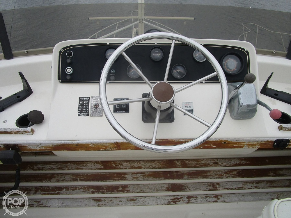 1987 Mainship boat for sale, model of the boat is 34 III & Image # 15 of 40