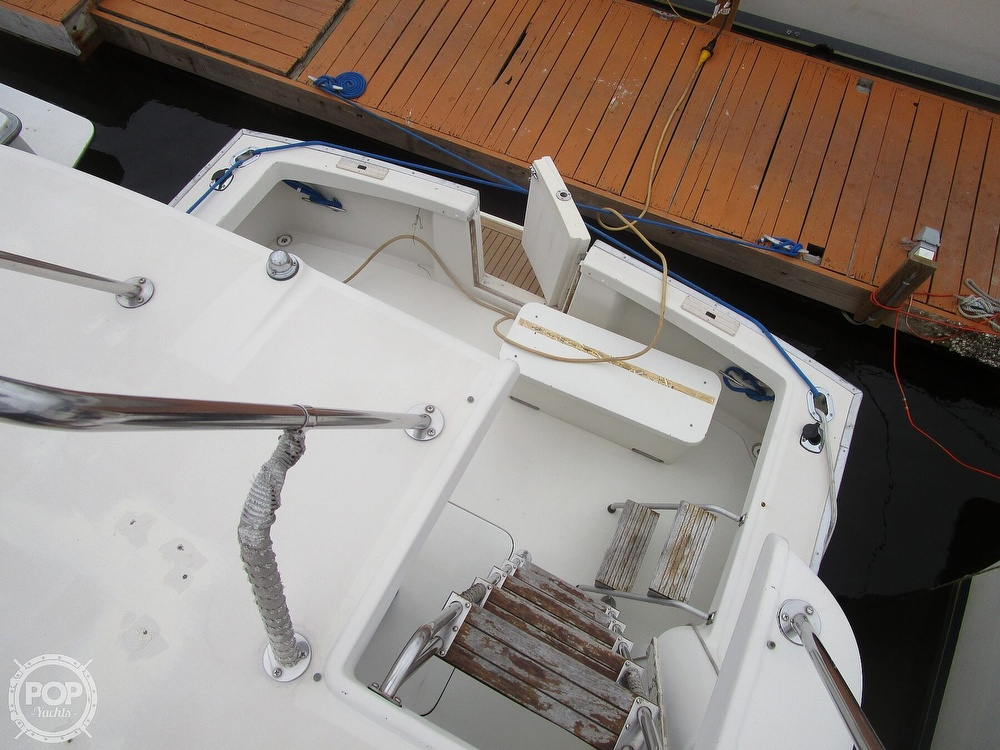 1987 Mainship boat for sale, model of the boat is 34 III & Image # 22 of 40