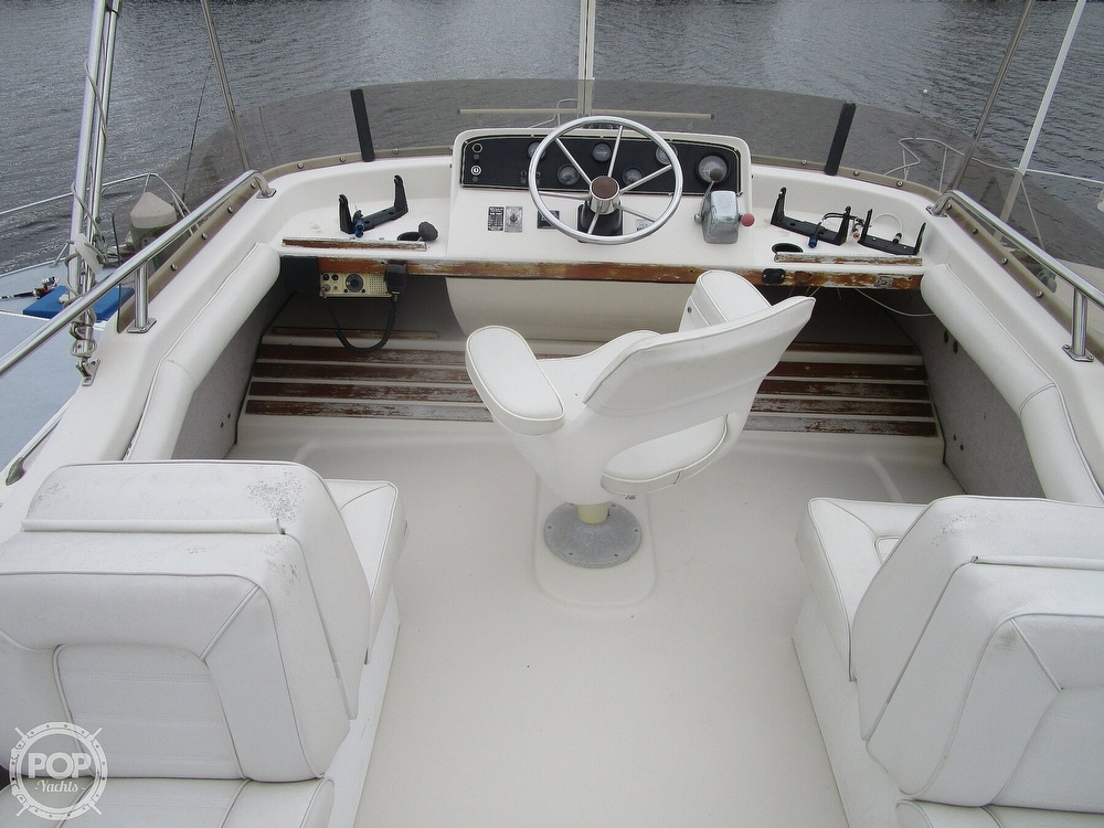 1987 Mainship boat for sale, model of the boat is 34 III & Image # 23 of 40