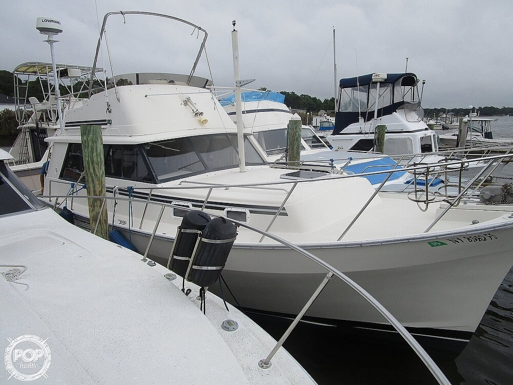 1987 Mainship boat for sale, model of the boat is 34 III & Image # 4 of 40