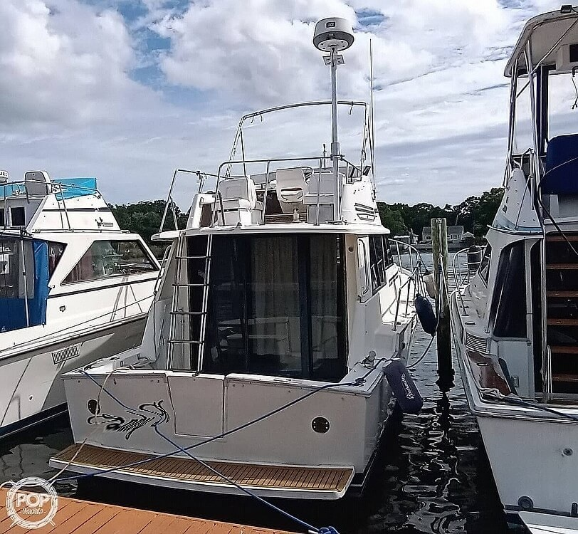 1987 Mainship boat for sale, model of the boat is 34 III & Image # 8 of 40