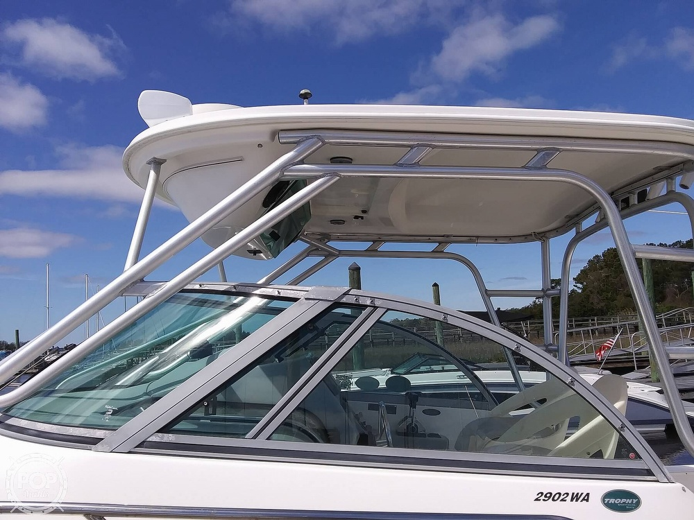 2004 Trophy boat for sale, model of the boat is 2902 WA & Image # 12 of 40