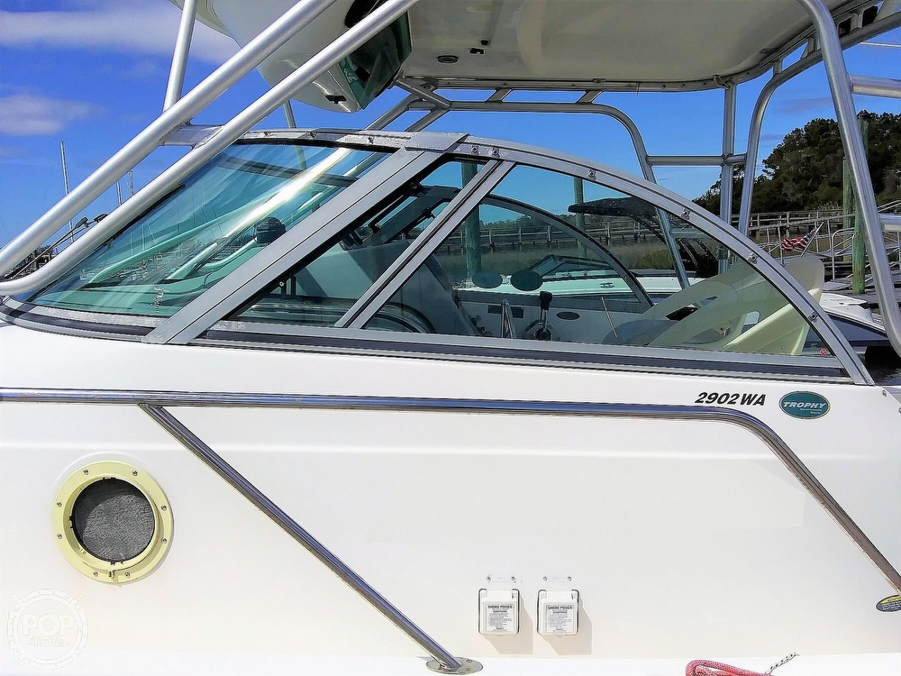 2004 Trophy boat for sale, model of the boat is 2902 WA & Image # 13 of 40