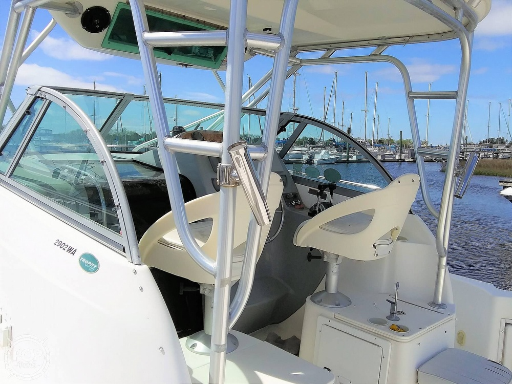2004 Trophy boat for sale, model of the boat is 2902 WA & Image # 20 of 40