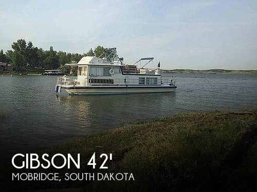 Used Houseboats For Sale in South Dakota by owner | 1977 42 foot Gibson Remodeled Gibson