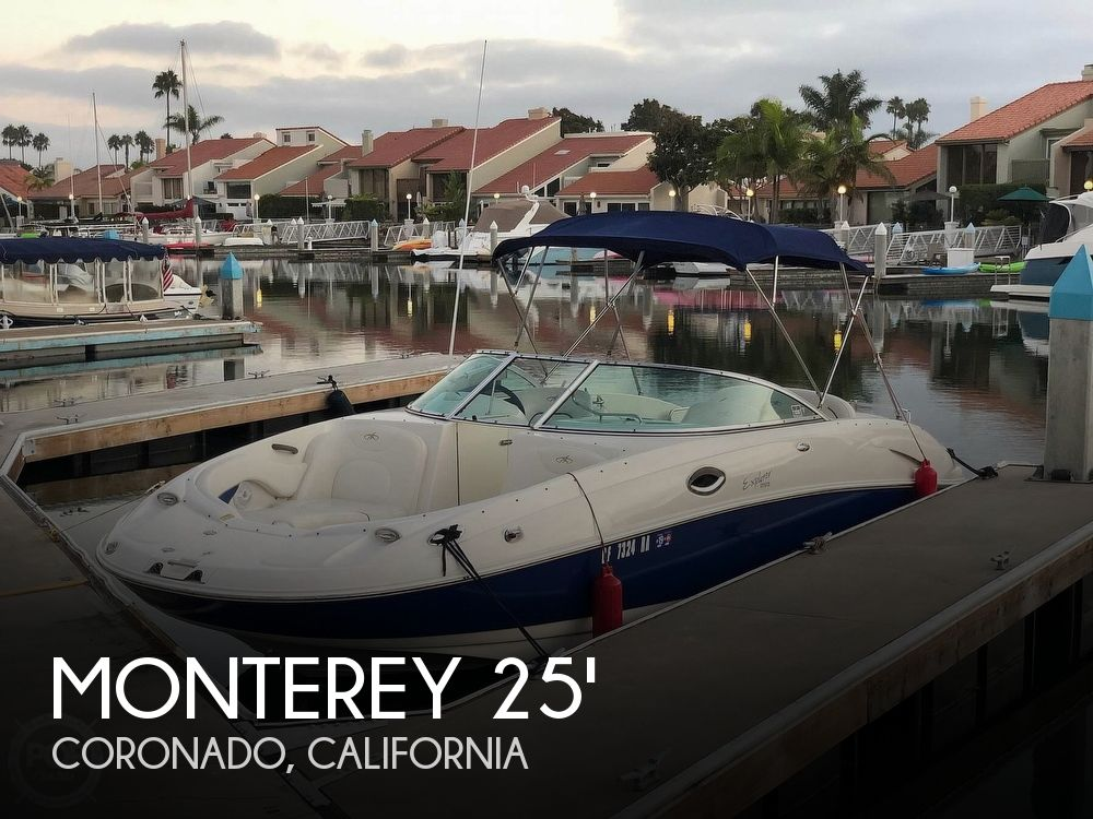 Used Monterey Boats For Sale in California by owner | 2003 Monterey 253 Explorer Sport