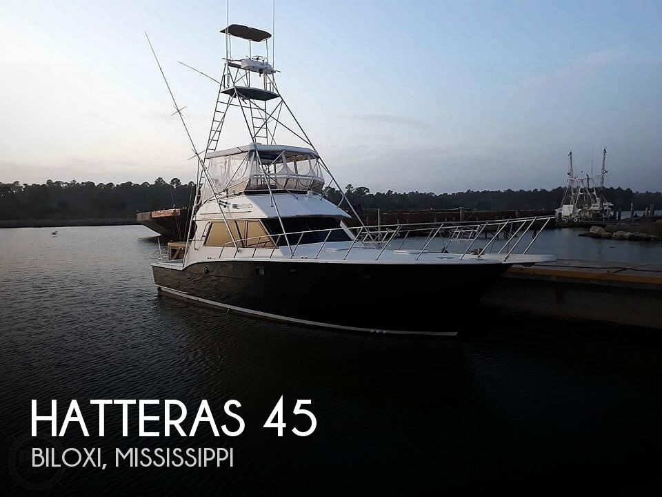 Used Boats For Sale in Mobile, Alabama by owner | 1985 Hatteras 45