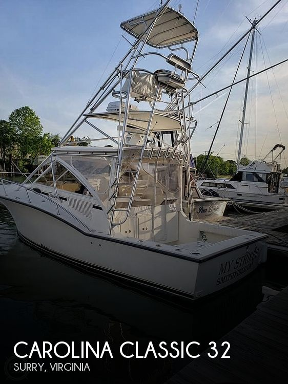 Used Boats For Sale in Virginia by owner | 2005 Carolina Classic 32