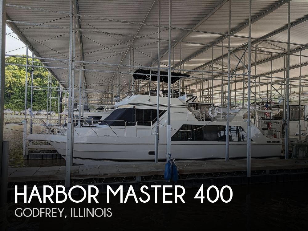 Used Houseboats For Sale in Illinois by owner | 1994 Harbor Master 400