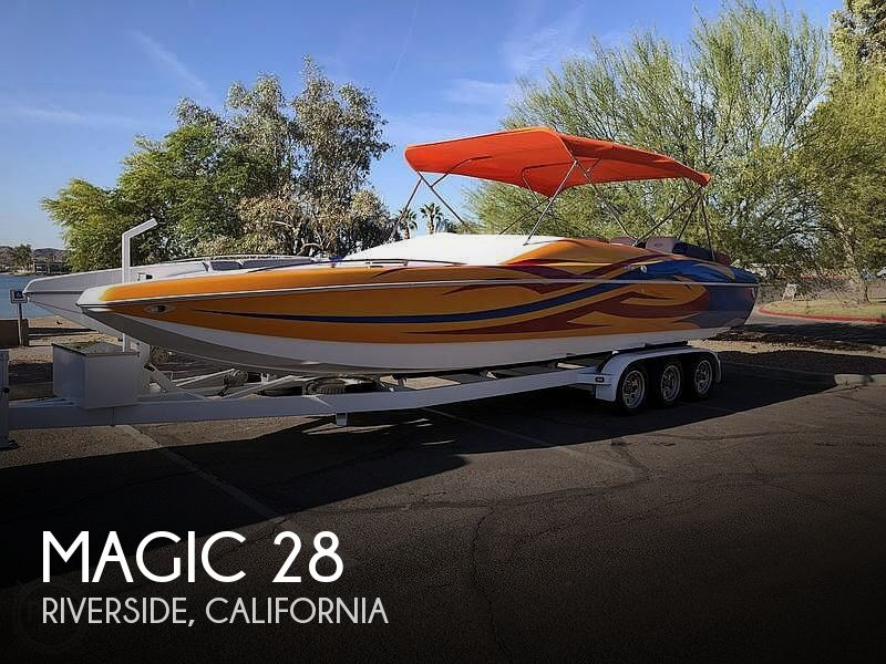 Used Magic Boats For Sale by owner | 2009 Magic 28 Specter