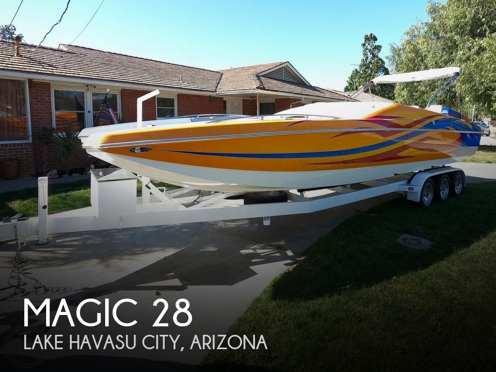 2009 Magic boat for sale, model of the boat is 28 Scepter Open Bow & Image # 1 of 40