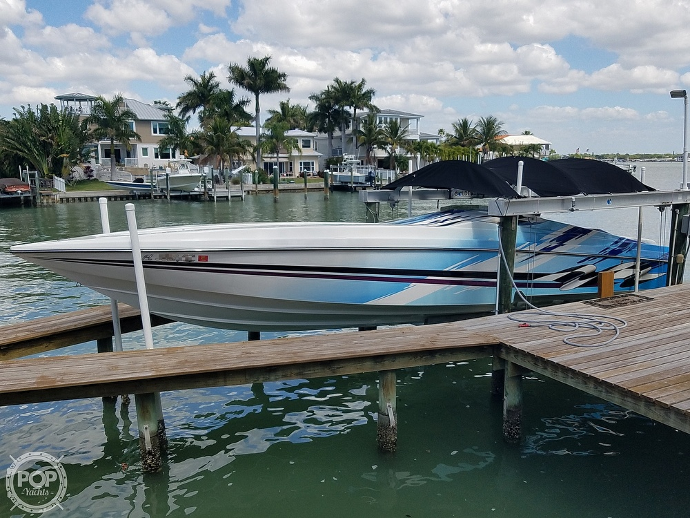 2001 Active Thunder boat for sale, model of the boat is 37 Custom & Image # 2 of 40