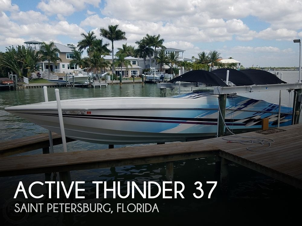 Used Active Thunder Boats For Sale by owner | 2001 Active Thunder 37