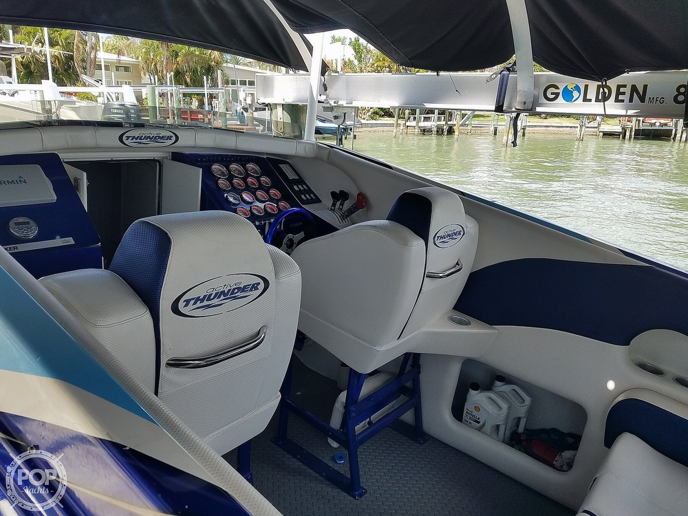 2001 Active Thunder boat for sale, model of the boat is 37 Custom & Image # 5 of 40