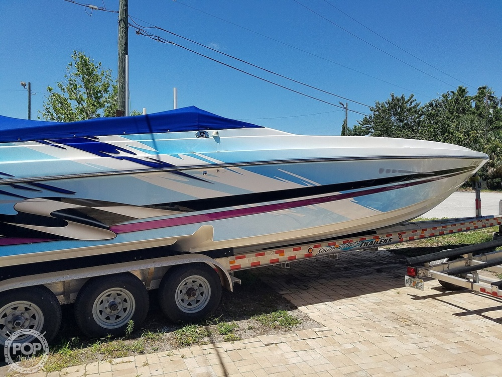 2001 Active Thunder boat for sale, model of the boat is 37 Custom & Image # 21 of 40