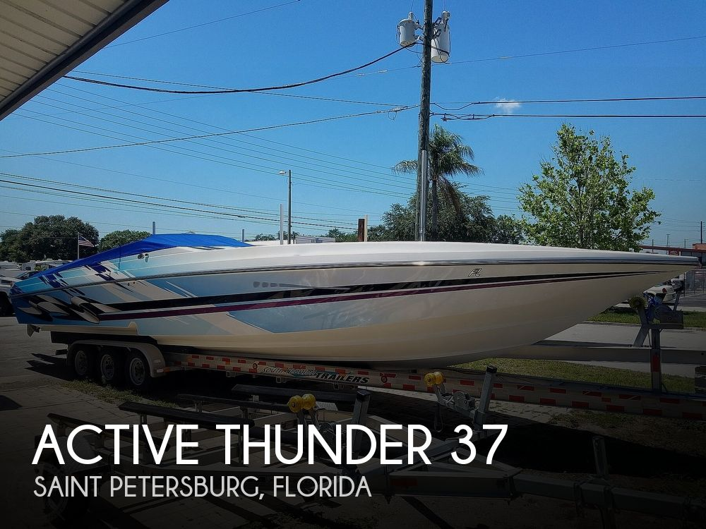 2001 Active Thunder boat for sale, model of the boat is 37 Custom & Image # 1 of 40