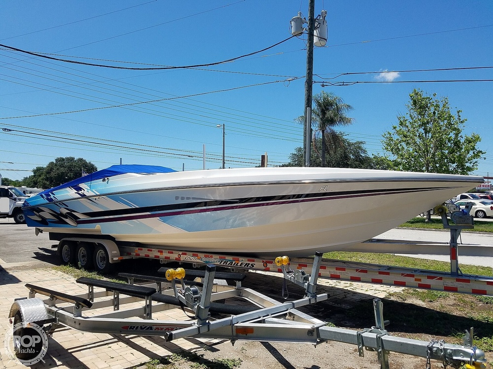 2001 Active Thunder boat for sale, model of the boat is 37 Custom & Image # 23 of 40