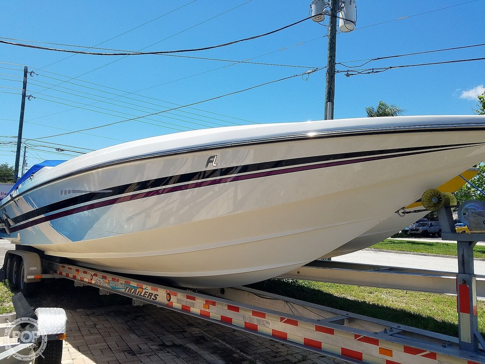 2001 Active Thunder boat for sale, model of the boat is 37 Custom & Image # 24 of 40